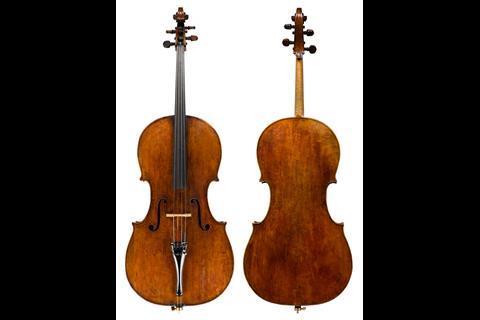 Antonio stradivari cello castelbarco